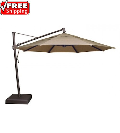 Treasure Garden 13' AKZ Octagon Cantilever Umbrella - Quick Ship